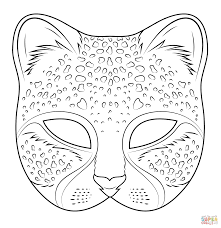 i love coloring ii cheetah mask icolor