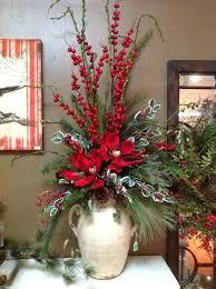 christmas floral arrangements oversized porcelain vase for large arrangements christmas large