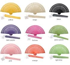 sandalwood fan color sandalwood fans with organza bag palm and bamboo fans