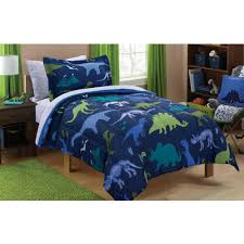 Walmart Bedroom Furniture Sets by Kids Bedding Sets Walmart Com Mainstays Dino Roam Bed In A Bag Set