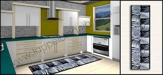 tappeti moderni bianchi e neri tappeto cucina bagno bianco nero antiscivolo