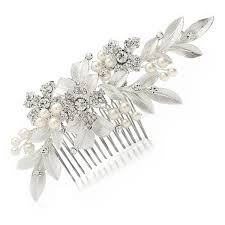 bridal hair comb mariell couture bridal hair comb with painted