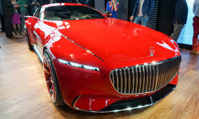 maybach sports car 2016 pebble beach concours vision mercedes maybach 6 autonxt