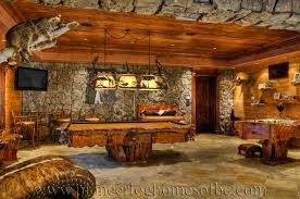 luxury log home interiors bars and rooms log home and cabin interiors pioneer log