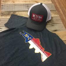 North Carolina Flag North Carolina Trout Flag T Shirt Tuckaseegee Fly Shop