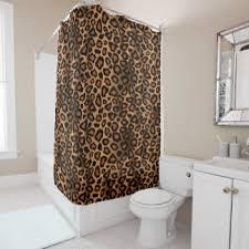 Leopard Curtains Leopard Print Shower Curtains Zazzle