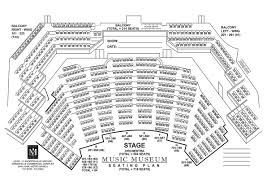 Red Rocks Seat Map Music Museum Seat Plan Music Museum Group
