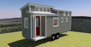 free tiny house plans shed roof