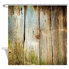 Shower Curtains Rustic Rustic Distressed Barn Wood Faux Shower Curtain By Buyagift1