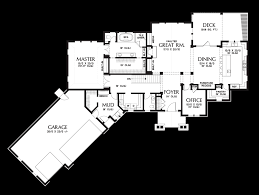 ranch style floor plan mascord house plan 1340 the copperfield