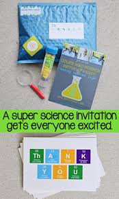 throw a mad science birthday party
