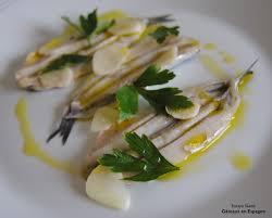 cuisine espagnole recette gâteaux en espagne tapa espagnole facile anchois avec du vinaigre