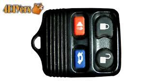 diy ford keyless remote battery replacement u0026 disassembly youtube