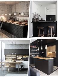 cuisine industriel j ose le noir dans ma cuisine type industriel le déco de