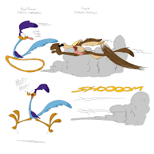 the road runner wile e coyote and the road runner by larry the beaver on deviantart