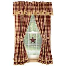 Country House Collection Curtains Country Star Decor Primitive Home Decors