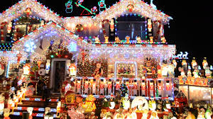 holiday light displays near me abc s the great light fight family to compete for best