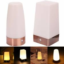 Wireless Table Lamp Wireless Pir Motion Sensor Battery Operated Led Table Night Light