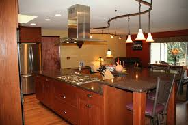 Kitchen Island Track Lighting Awe Inspiring Wooden Kitchen Island Table With Kitchen Pendant