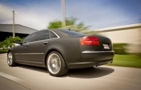 audi s8 matte black coral gables audi a8 matte black car wrap