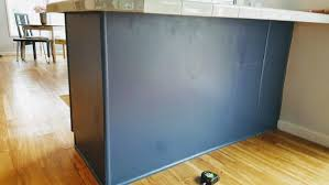 how to install peninsula kitchen cabinets budget kitchen makeover how to add character to a kitchen
