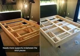 Roller Bed Frame Bed Frame Support Heavy Duty 7 Leg Adjustable Metal Bed Frame With