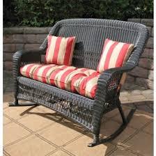 Wicker Loveseat Replacement Cushions Resin Wicker Loveseats