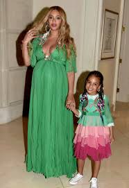 beyonce and blue ivy at beauty and the beast premiere