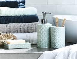 Bright Blue Bathroom Accessories by Almada Bathroom Accessories Bed Bath N U0027 Table