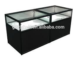 glass counter display cabinet modern showcase shot glass display cabinet portable glass kiosk