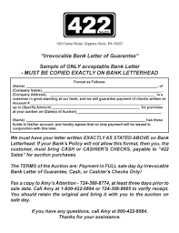 bank guarantee sample letter forms and templates fillable