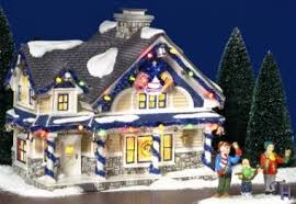 the jingle bells house figurine set by department 56