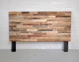 reclaimed wood bed etsy