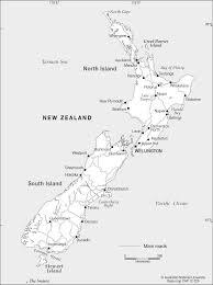 New Zealand Map New Zealand Base Cartogis Services Maps Online Anu