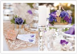 white gold and purple wedding royal inspired blue white and gold rancho santa fe wedding