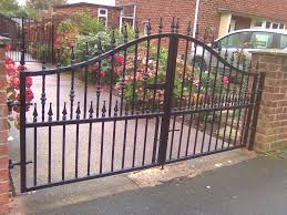 Decorative Wrought Iron Railings Wrought Iron Garden Gates And Railings Home Outdoor Decoration