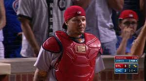 Nails Knocked Out Barely Breathing Inside Mlb Star - yadier molina holds lead in all star voting mlb com
