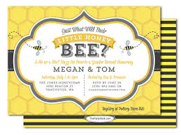 what will it bee baby shower will it bee gender reveal baby shower invitation