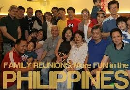 what is a typical family gathering like in the philippines
