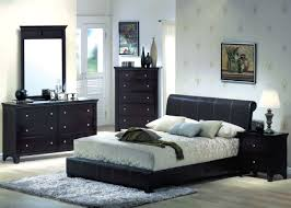 Single Bedroom Black Furniture Bedroom Classical Wooden Drawer Chest Luxury