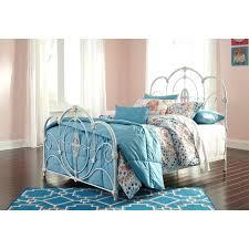 Iron Bed Frames King White Metal Bed Frame Happyhippy Co