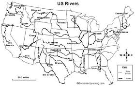 united states map with rivers and mountain ranges the student will develop map skills by a locating the on maps