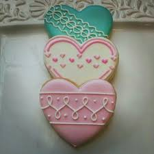 New Year S Cookie Decorating Ideas by Best 25 Heart Cookies Ideas On Pinterest Heart Shaped Cookies