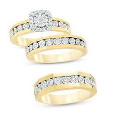 zales wedding rings for trio collection rings zales