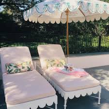 outdoor umbrellas chic patio inspiration the well appointed
