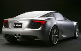 lexus supercar hybrid lexus lf a supercar modified magazine