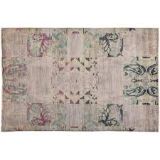 2 X 5 Area Rugs Vibrance Overdyed Wool Area Rugs Solo Rugs