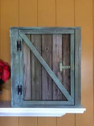 reclaimed wood wall cabinet old reclaimed wood barn door wall cabinet with wainscoting back and