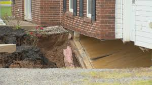 house swallowed by sinkhole overnight in nova scotia youtube