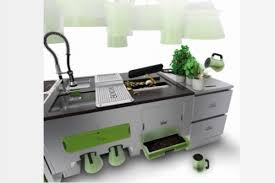 Eco Kitchen Design Futuristic Eco Kitchen Design Luxury Topics Luxury Portal